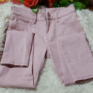 Girls pink cargo pants